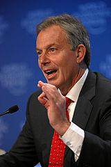 Tony Blair at the World Economic Forum 2009