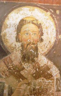 Icon of Saint Sava of Serbia