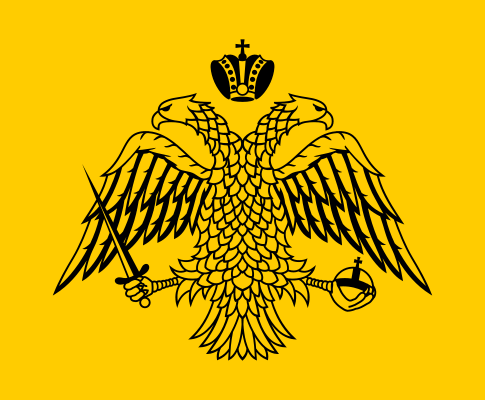 Double-eagle flag of the Byzantine Empire