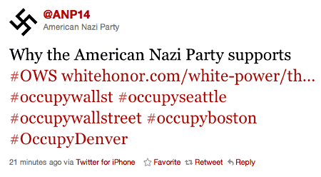 American Nazi Party Twitter screen shot