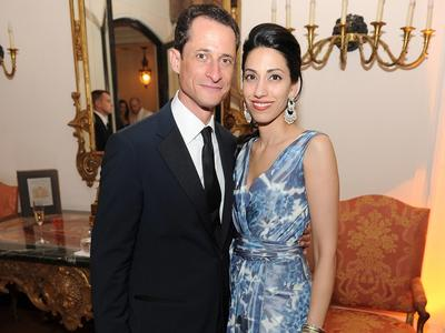 Mr. and Mrs. Skeletor a/k/a Anthony Weiner and Huma Abedin
