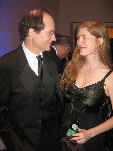 Cass Sunstein and Samantha Power
