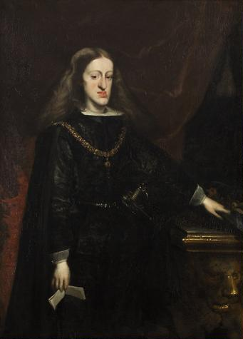 Portrait of Charles II of Spain by Juan de Miranda Carreno