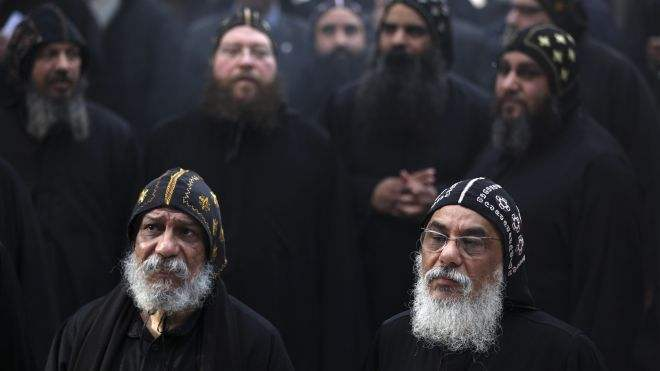 Coptic clergy