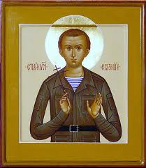 Icon of New Martyr Evgeny Rodionov