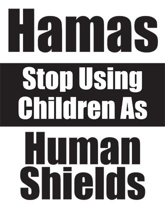 HAMAS Stop Using Children As Human Shields