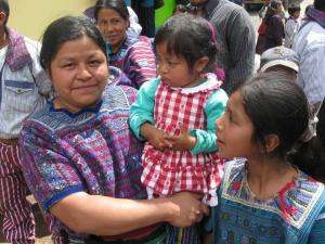 A Guatemalan Orthodox Christian family