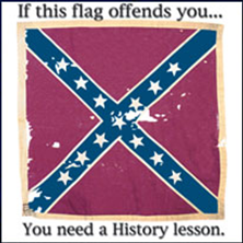 Confederate flag: If this flag offends you, you need a history lesson