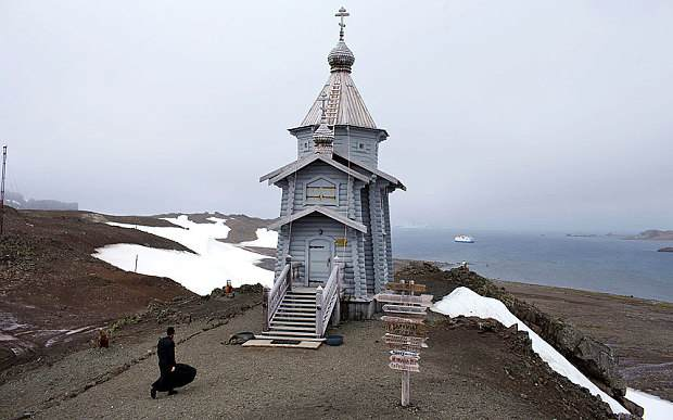 Holy Trinity Orthodox Church in Antarctica