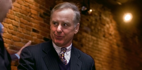 Illinois US Senator Howard Dean