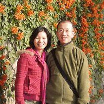 Blogger Hu Jia and his wife