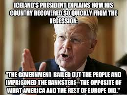 Why Iceland recovered from the crash and the US and the EU didn't