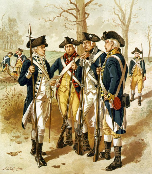 Continental Army Infantry 1779-1783