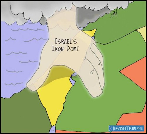 Israel's Real Iron Dome