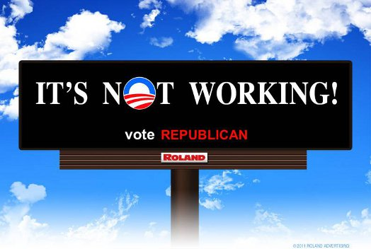 It's not working - vote Republican