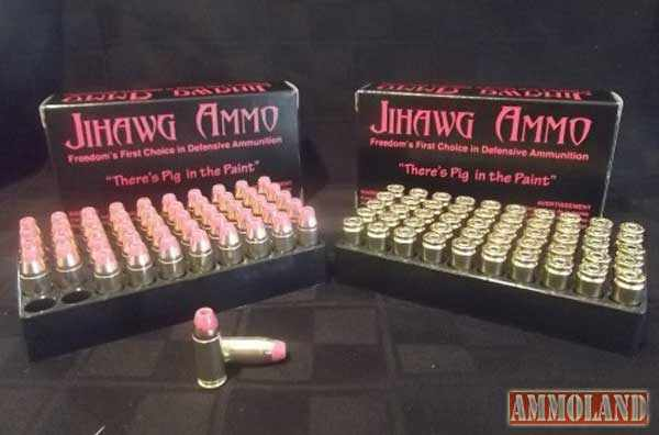 Jihawg Ammunition 9mm Pig Tainted Ammo