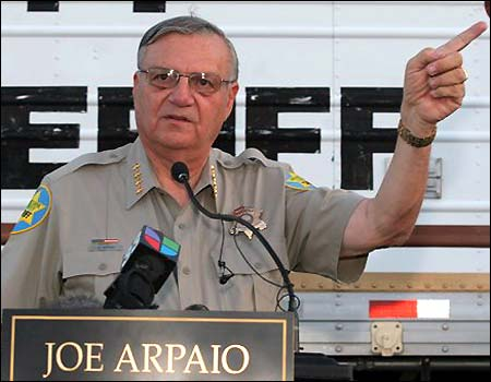 Photo of Sheriff Joe Arpaio