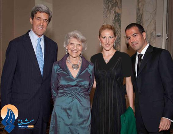 Family photo of the politician, married to Teresa Heinz Kerry, famous for United States Secretary of State..