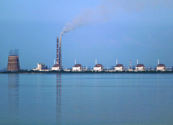 Zaporozhye nuclear power plant with six reactors