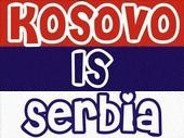 Kosovo is Serbia graphic, in English