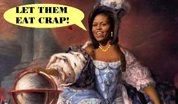 Michelle Antoinette says: 'Let them eat crap!'