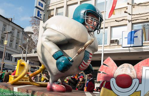 Mainz carnival: China (the pump) is inflating the US