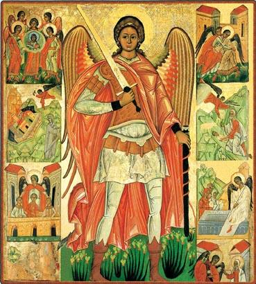Russian icon of St. Michael the Archangel
