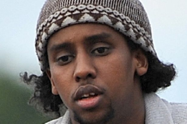 Mohammed Ahmed Mohamed without his burqa