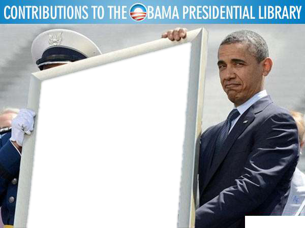 DIY template for Obama library contributions