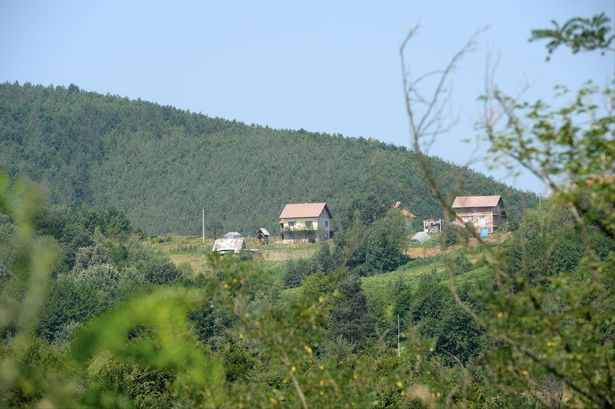 ISIS stronghold in Ošve, Bosnia