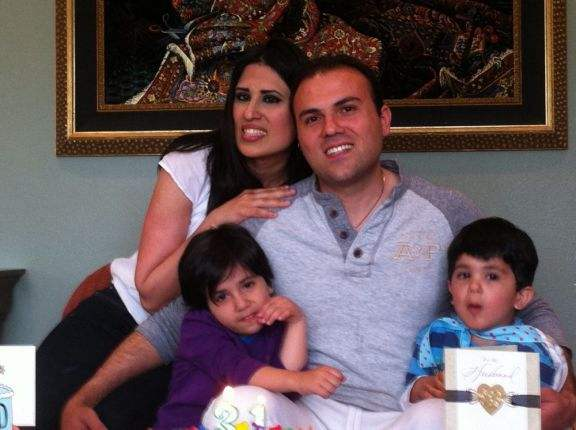 Pastor Saeed Abedini and his family