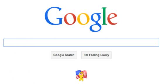 Google home page March 26, 2014 at 7:06:22 PM