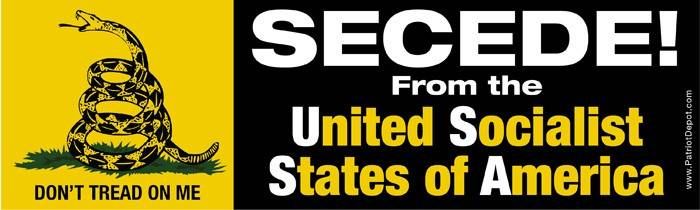 Secede from the United Socialist States of America