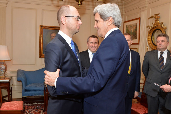 Kerry and Yatsenyuk