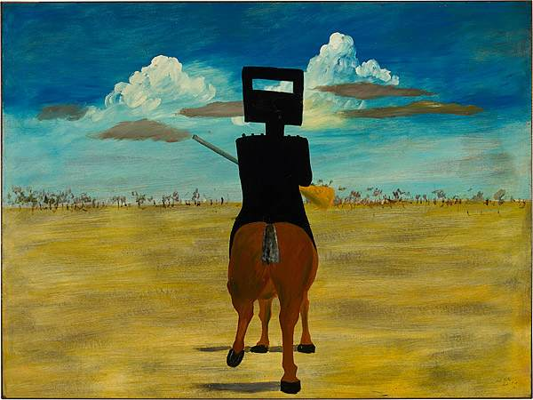 Sidney Nolan painting 'Ned Kelly'