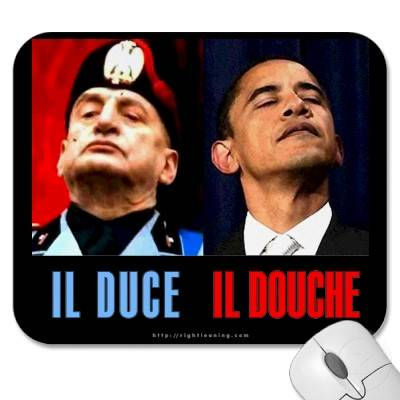 Similarities: Il Duce Il Douche Mousepad