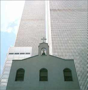 St. Nicholas Church at Ground Zero NYC
