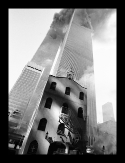 Thumbnail photo of St. Nicholas Greek Orthodox Church at Ground Zero, just before its destruction