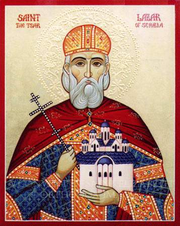 Saint Lazar of Serbia, the Tsar Martyr
