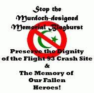 Stop the Murdoch-Designed Flight 93 Memorial