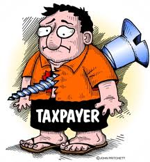 Taxpayer screwed