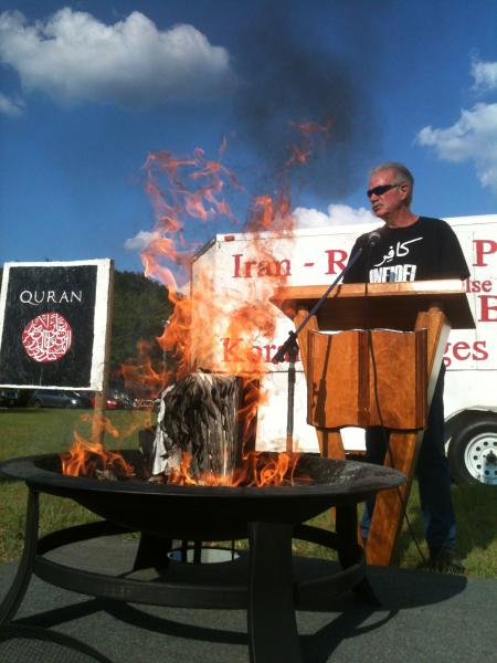 Rev. Terry Jones Burning Qur'an