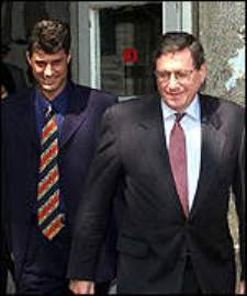 Hashim Thaci and Dick Holbrooke