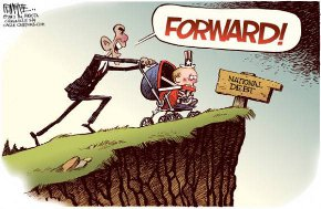 Thumbnail: The REAL fiscal cliff: National Debt