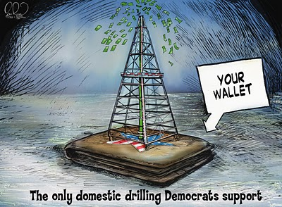 Your Wallet: The only domestic drilling Democrats support