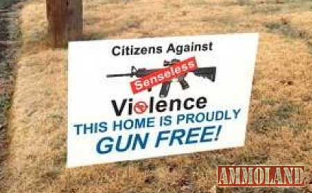 This Home is Gun Free
