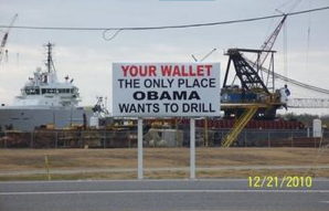Your Wallet: The only place Obama wants to drill