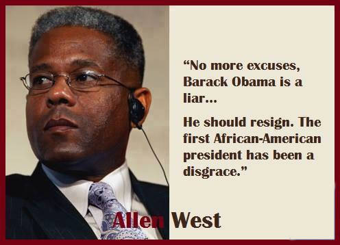 Allen West: Obama is a disgrace