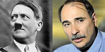David Axelrod and Adolf Hitler