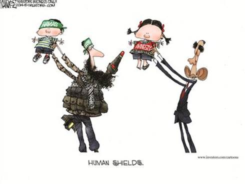 Using children as human shields: Hamas and Obama